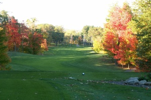 Golf Course During Fall