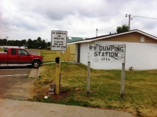 Webster RV Dumping Station